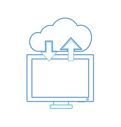 Isolated computer design vector