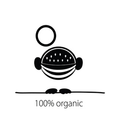 Watermelon organic vector