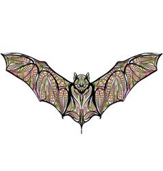 ethnic bat vector image