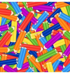 Pencil pile background card or cover vector