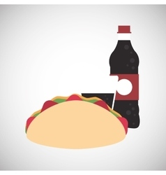 Tacos icon design vector