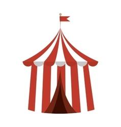 Circus carnival tent vector