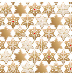 Graphic gingerbread pattern vector