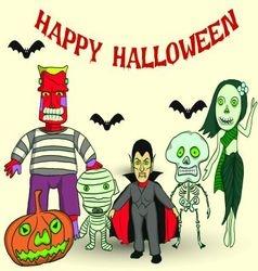 Halloween party v vector