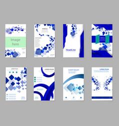 Mega pack brochure design template flyer set vector