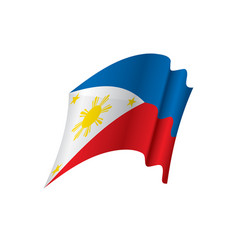 Philippines flag vector