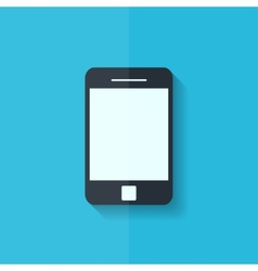 Smartphone icon Tablet symbol Flat design vector image vector image