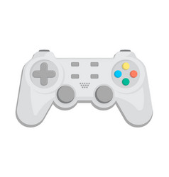 Modern gamepad icon in cartoon style vector