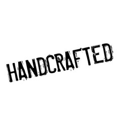 Handcrafted rubber stamp vector