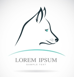 Dog siberian husky vector