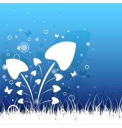 Beautiful grass vector image