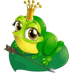 Princess the frog vector