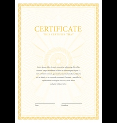 Certificate and diplomas template vector