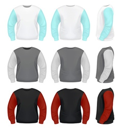 Men Sweater vector image vector image