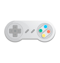 Modern wireless joystick icon in cartoon style vector