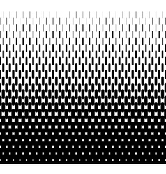 Rounded lines halftone seamless pattern vector