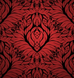 Floral seamless ornament vector