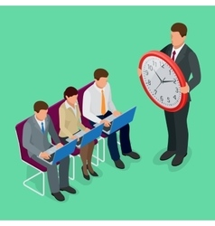 Time management concept planning organization vector