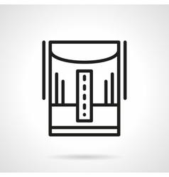 Humidifier line black line icon vector image