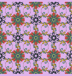 pattern cute floral pattern in the small flower vector image