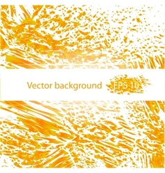 Orange juicy liquid abstract background vector