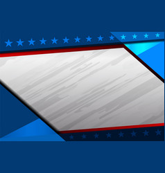 America flag color background vector