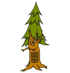 Tree with face vector