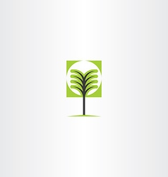 Tree sign icon element vector