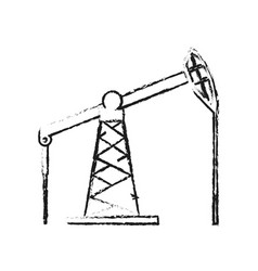 Oil industry icon image vector