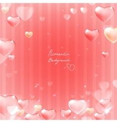 Ornate heart background vector