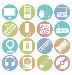 White icons computer vector