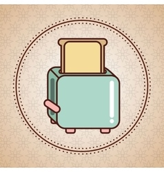 Kitchen appliance supply icon vector