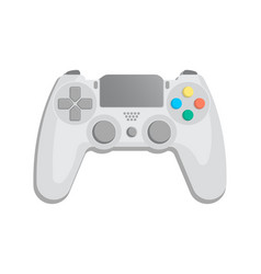 control console for video game icon vector image