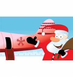 christmas travel vector image