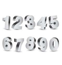 Three-dimensional numbers vector