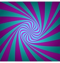 Cyan magenta whirl background vector