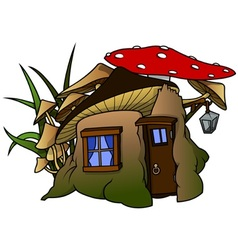 Elf House vector image vector image