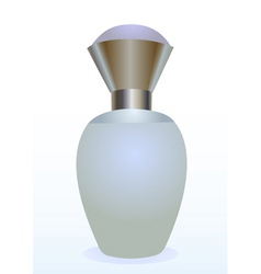 small bottle of a perfume for women vector image vector image