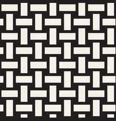 Trendy monochrome twill weave seamless vector