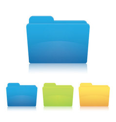 File folder vector