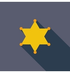 Police single icon vector