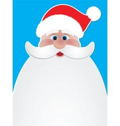 Santa poster vector