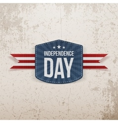 Independence day grunge background vector