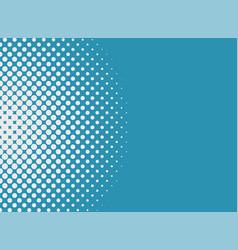 halftone dots background pop art style modern vector image