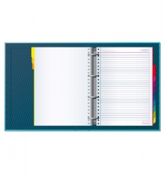 office binder vector image vector image
