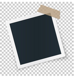 square image place concept single isolated object vector image vector image