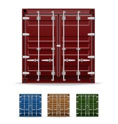 Cargo container 102 vector
