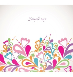 Abstract colorfull background vector image vector image