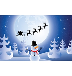 christmas holiday vector image vector image