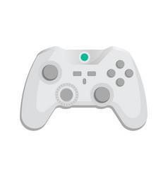 Modern wireless joypad icon in cartoon style vector